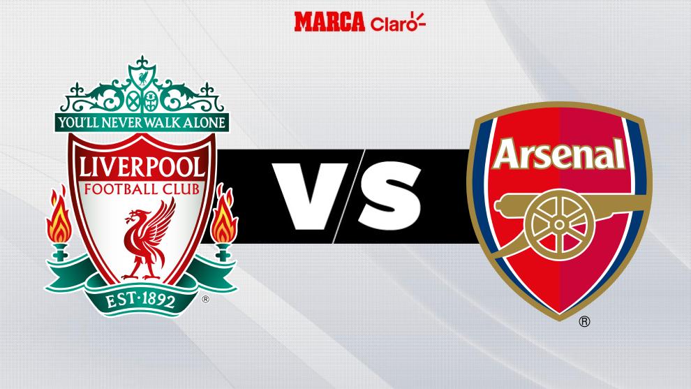 Liverpool vs Arsenal, en directo en la Premier League.