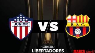 Juniors vs Barcelona: cómo ver el partido de Copa Libertadores 2020.