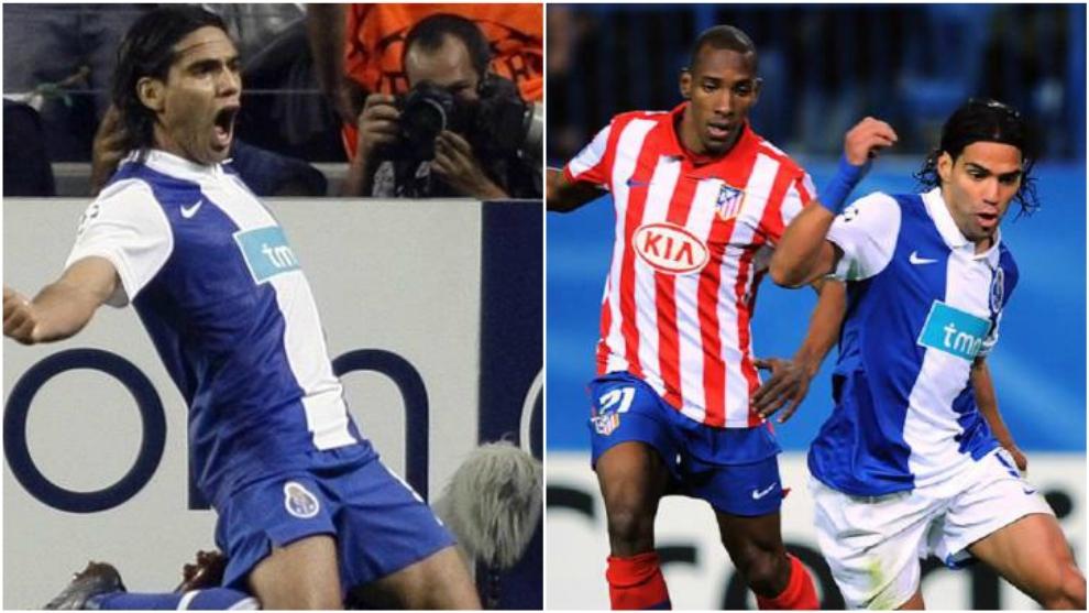 El primer gol de Radamel Falcao en la Champions League