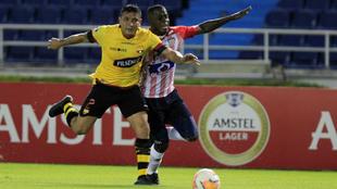 Junior y Barcelona jugaron en el Metropolitano por la Copa...