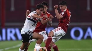 Fue un partido disputado pero dejó ganador al elenco argentino.