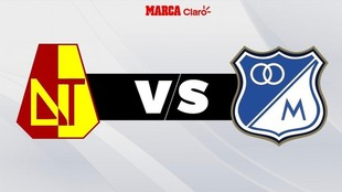 Liga BetPlay: Millonarios Tolima