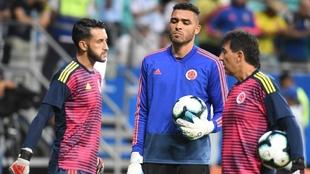 Álvaro Montero y Camilo Vargas en la Selección Colombia