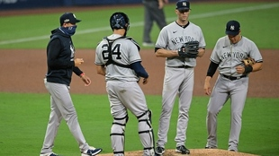 Los Yankees de Gio Urshela cayeron eliminados antes los Tampa Bay...