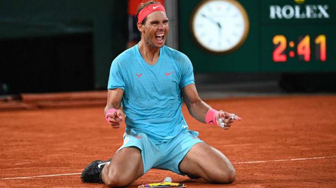 La felicidad del español tras conseguir otro Grand Slam