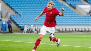 El noruego es una máquina de hacer goles.