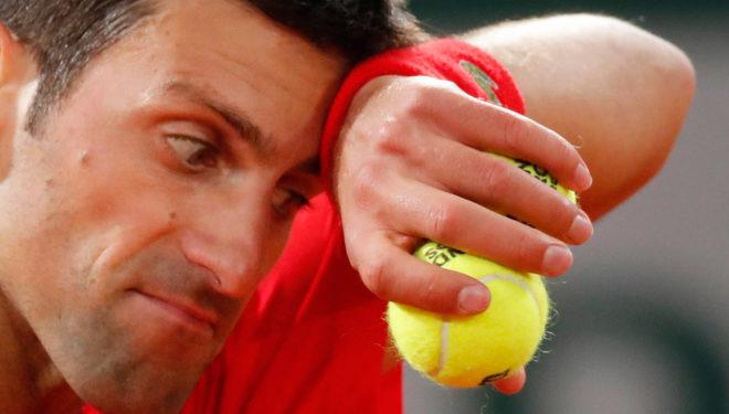 Novak Djokovic cayó derrotado en Roland Garros ante Rafa Nadal.