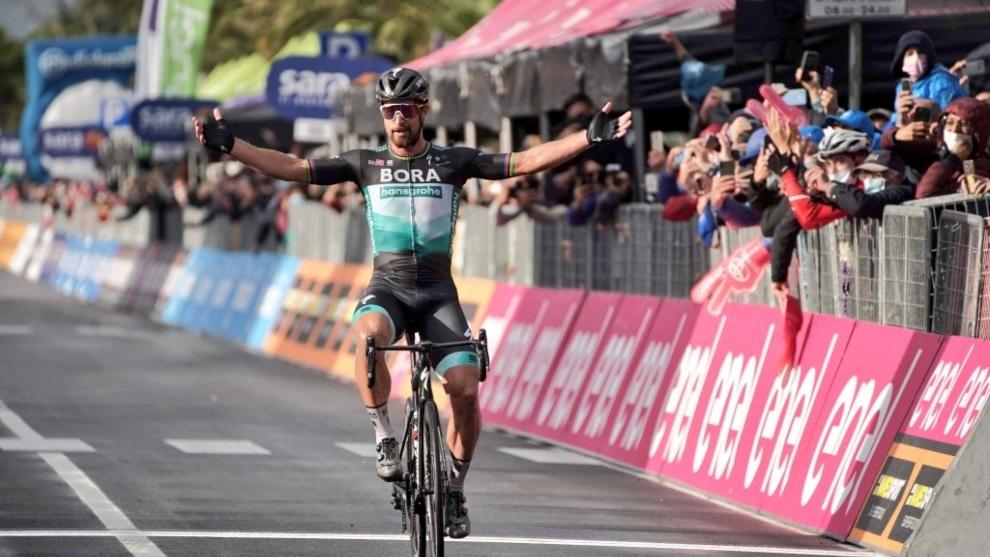 Peter Sagan ganara la décima etapa del Giro de Italia