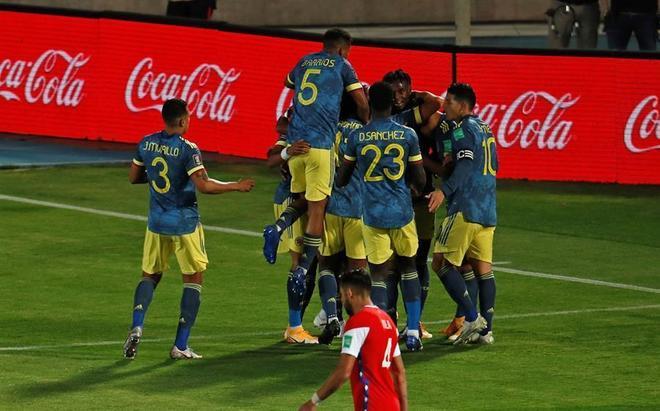 Colombia vs Chile: ¿Quién ganó el partido de la Eliminatoria...
