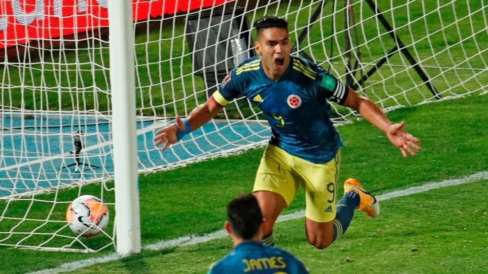 La celebración del gol del Tigre cuando caía el telón del...