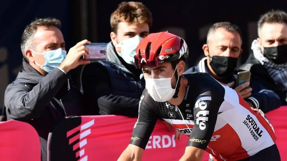 De Gendt, durante el Giro de Italia