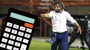 Diseño de Alberto Gamero en un partido de Millonarios y una...