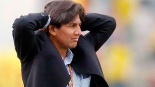 Eduardo Pimente, en su época de entrenador.