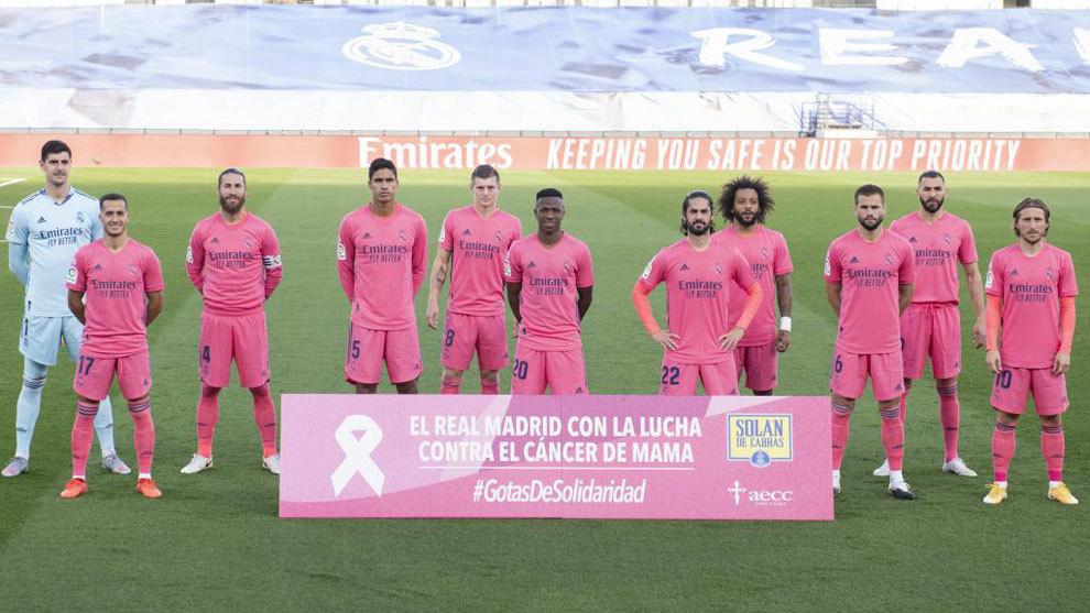 El once del Real Madrid ante el Cádiz que fracasó en la primera...