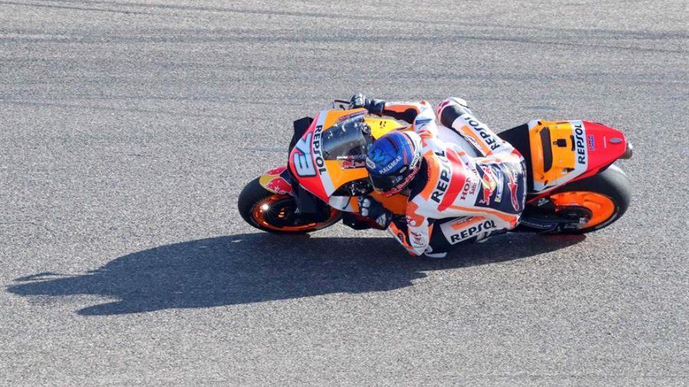 Alex Márquez, en competencia.