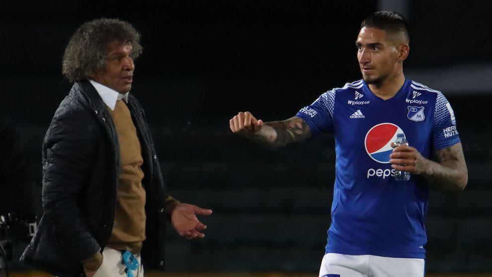 Alberto Gamero y Cristian Arango.