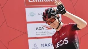 La Vuelta a España: Chris Froome se prepara para correr su última...