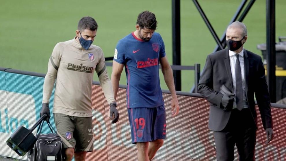 La salida en el partido contra el Celta de Vigo.