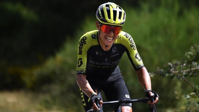 Esteban Chaves es el colombiano mejor colocado en la General de la Vuelta a España.