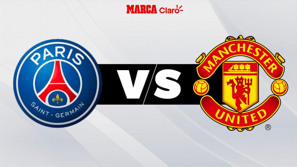 Partidos de la Champions 2020: París Saint-Germain vs Manchester United.