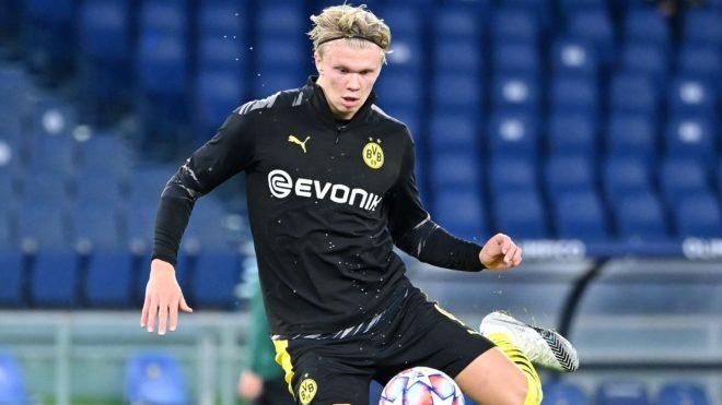 Haaland es el principal arma del Dortmund en Champions.