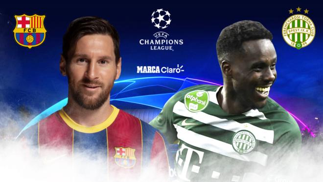 Barcelona vs Ferencvaros: la dos hombres a tener en cuenta.