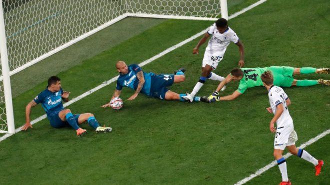 El Burjas vence a Zenit en Rusia.
