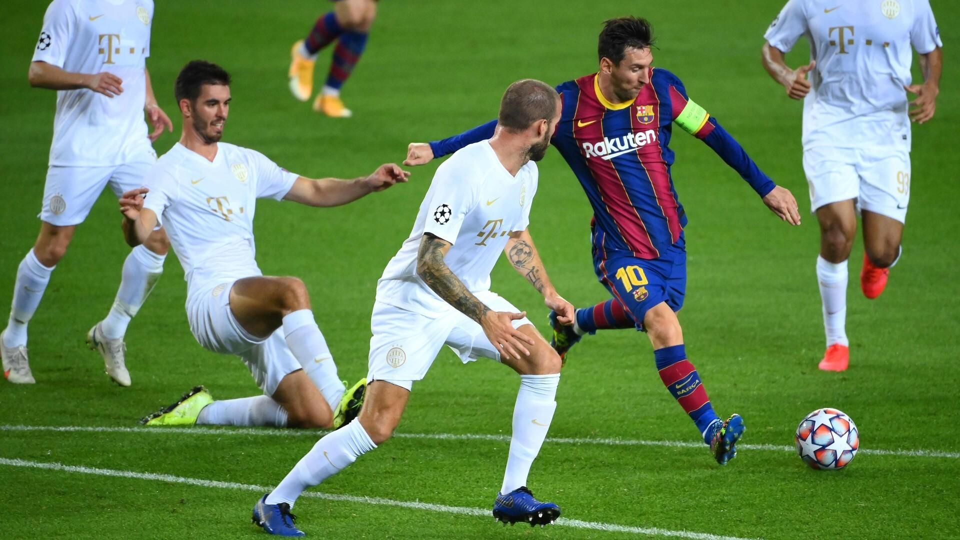 El Barcelona vs Ferencváros por la Champions League