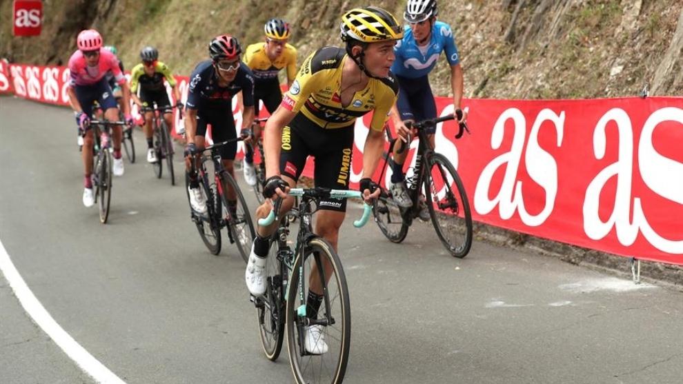 La Vuelta a España: Roglic gana la etapa 1 entre Irún y Arrate