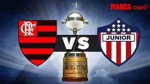 Flamengo vs Junior: horario y dónde ver en TV el partido de la fecha...