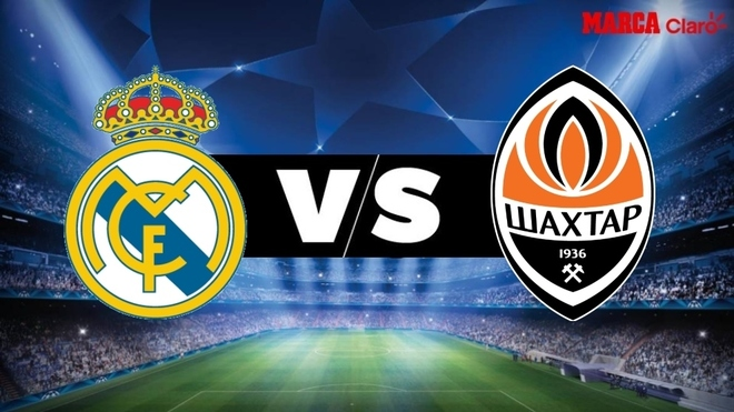 Real Madrid vs Shakhtar Donetsk, en vivo el partido por la fecha 1 ...