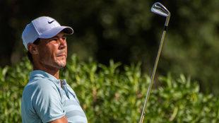Rafael Nadal y el golf, su otra pasión.