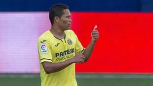 Carlos Bacca, con el Villarreal