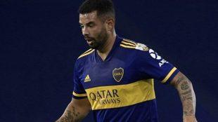 Cardona cuajó una buena actuación contra carcas en Libertadores.