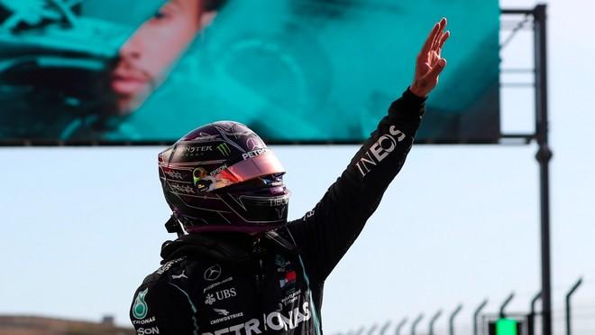 Hamilton consiguió su pole número 97 en Portugal.