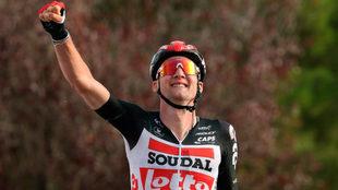 Tim Wellens se ha impuesto en la quinta etapa de la Vuelta a España.