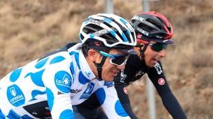 Carapaz se muestra confiado en la Vuelta a España.