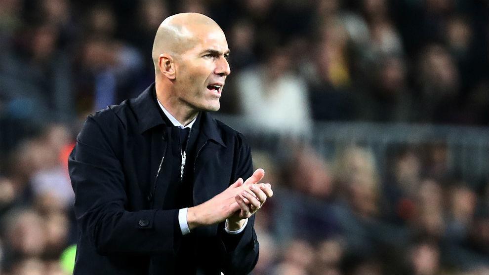 Zidane, invicto en el Camp Nou.