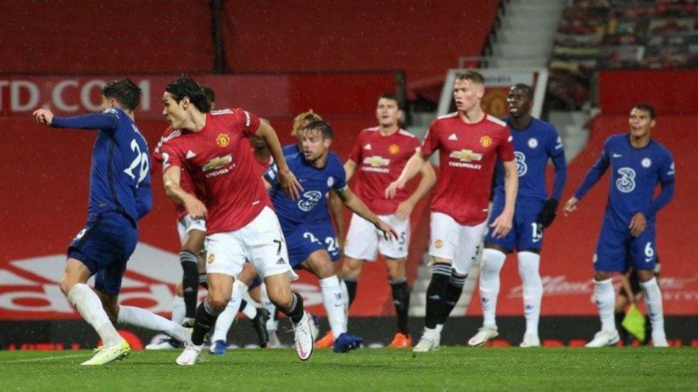 Manchester United y Chelsea no se hacen daño