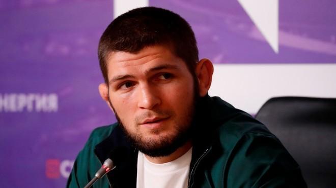 Khabib sorprendió a todos anunciando su retirada de las peleas.