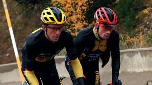 Roglic dejó se ser el líder en la Vuelta a España.