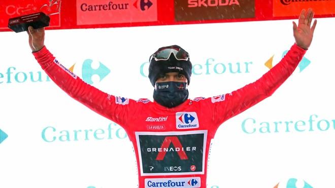 Richard Carapaz pasa a liderar la General de la Vuelta a España.