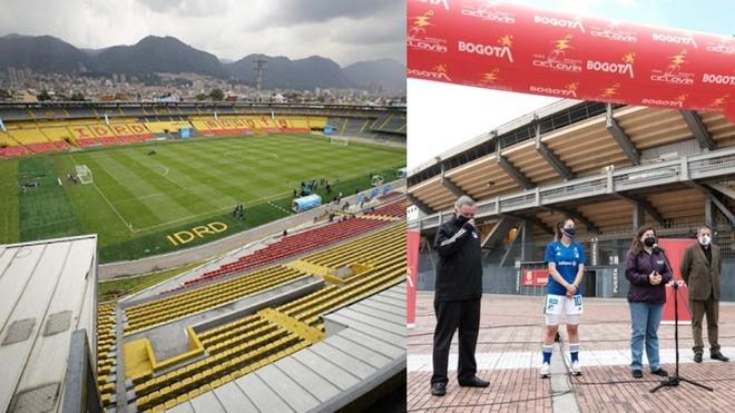 El Campín será gratuito para los equipos de Bogotá.
