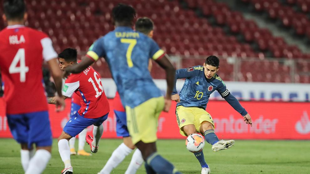 Colombia lleva cuatro puntos tras las dos primeras fechas.