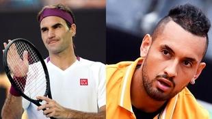 Roger Federer y Nick Kyrgios
