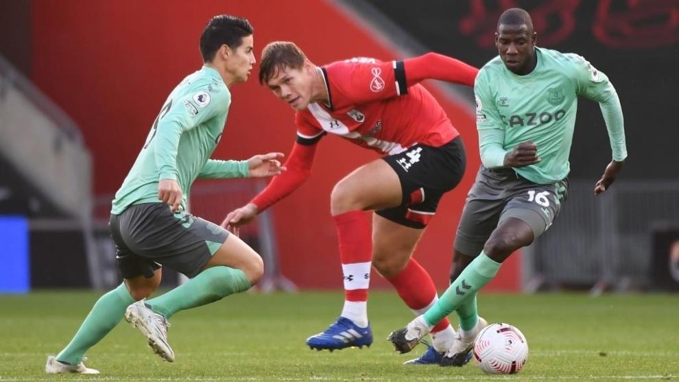James Rodríguez prepara su 'venganza' contra el Southampton 2