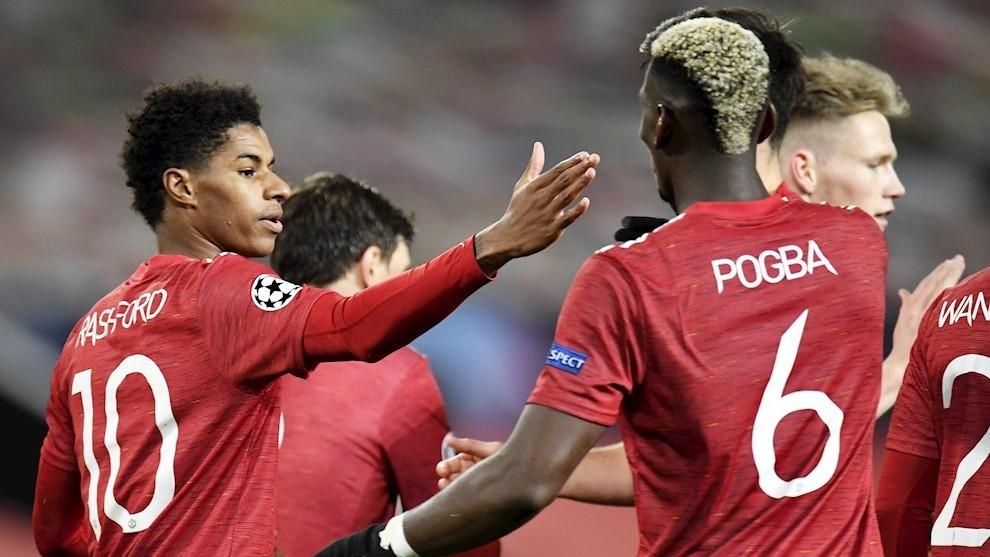 Manita del Manchester United al Leipzig
