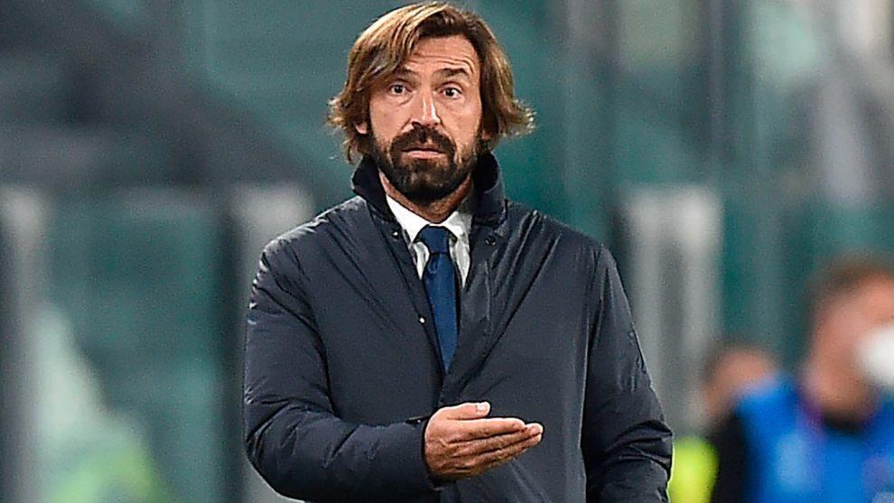 Andrea Pirlo, durante el partido contra el Barcelona.