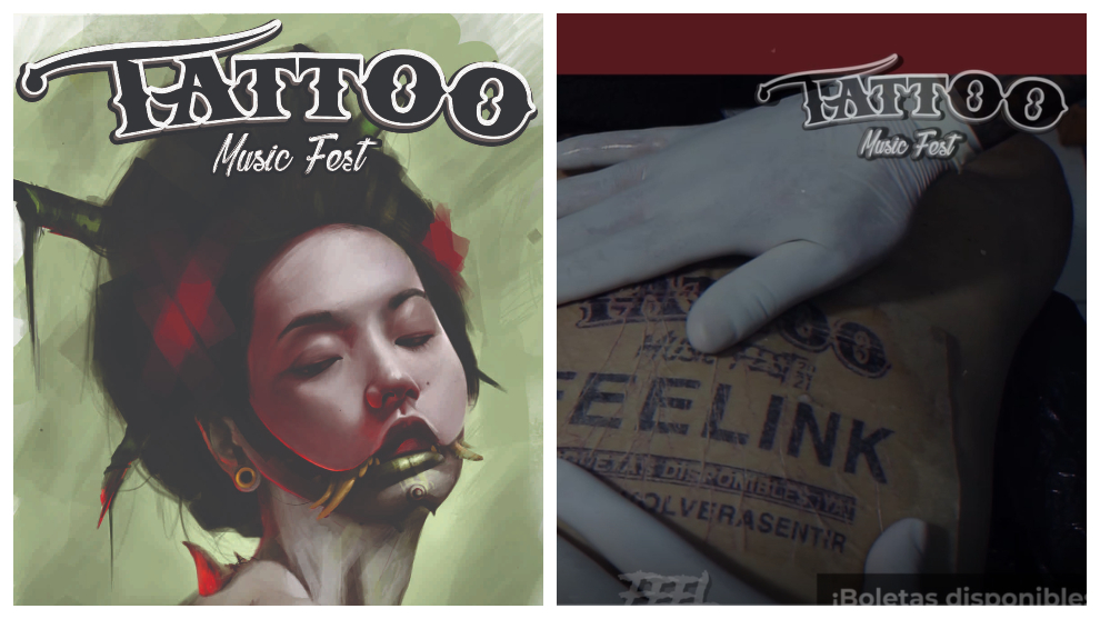 Inicia la etapa FEELINK del Tattoo  Music Fest 2021