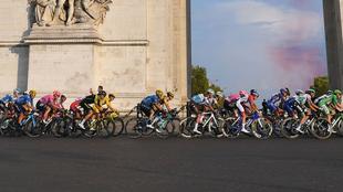 El pelotón, en una etapa del pasado Tour de Francia.